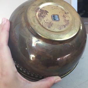 Accents - Small Brass Decorative Bowl